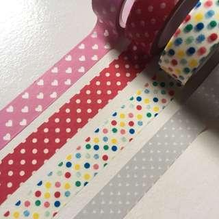 Shapes washi tape