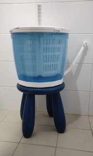hand spin washing machine