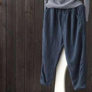 Oversized casual pants trousers harem pants