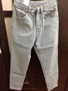 韓國牛仔褲 水洗牛仔褲