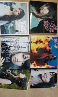水樹奈奈 日版cd  特典相片 特典postcard