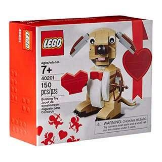 Leeogel Lego 40201 Valentines Cupid Dog Seasonal Set - New In Sealed Box