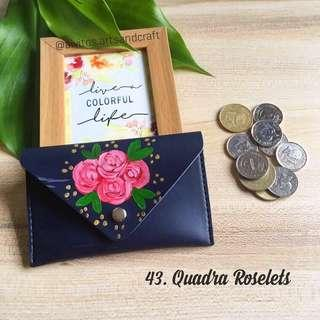 Handpainted Coin Purse Wallets