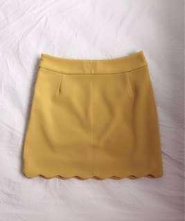 🚚 Yellow skirt