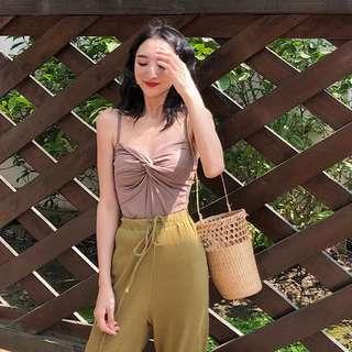 🚚 [PO] Twisted Front Cami