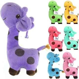 Purple Giraffe Stuffed Toys