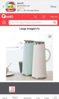 SIO Stainless Steel Vacuum Water Jug /Thermos Bottle