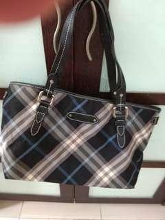 Burberry Handbag (blue labe)