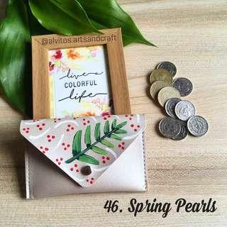 Hand painted coin purse wallets