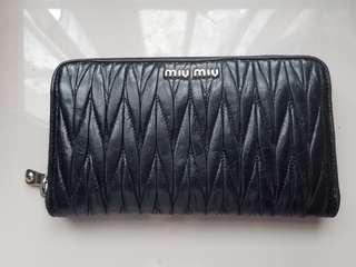 Miu Miu Wallet Black