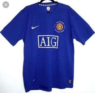 Manchester jersey limited edition 40 year anniversary