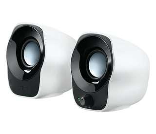 Logitech z121 USB mini stereo speakers