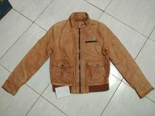 GAP Lamb Leather Jacket