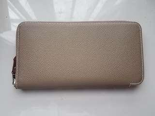 Hermes Long Silk-in Wallet