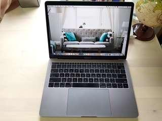 Macbook Pro 13 inch space grey (2017)