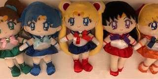 [New] 美少女戰士公仔(一套) Sailormoon doll set