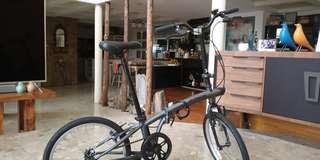迪卡農精品小折單車