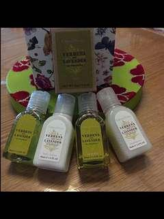 Crabtree and Evelyn Xmas gift set