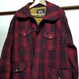 Woolrich 羊毛獵裝大衣