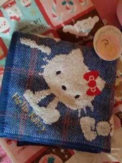 Cute blue handkerchief