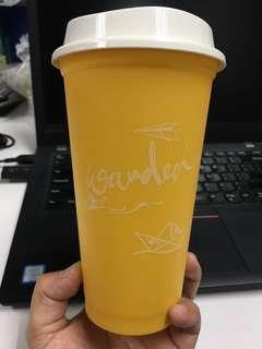 Wander - Starbucks statement reusable cup