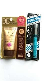 bb face cream,  top coat