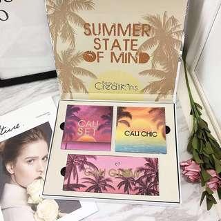 "[NEW] CALI COLLECTION by Beauty creations ""SUMMER STATE OF MIND"" Eyeshadow Set"