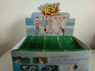 BTS Limited Edition YES! Cards