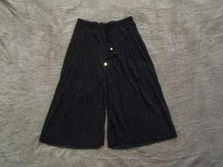 [NEW] Black Culottes Pants