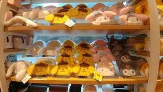 My Melody 肉桂狗 CN Cinnamonroll Pompompurin 布甸 Kuromi 可羅米 Hello Kitty 全新正版 Sanrio  公仔 散銀包 coins bag