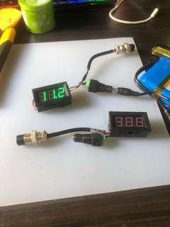 Custom voltmeter