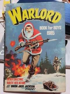 🚚 Warlord book for boys