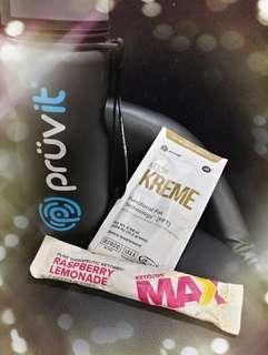 KETO MAX TRAIL PACK (5pack) *not included Kreme & botttle*