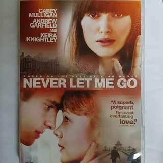 DVD Never Let Me Go 愛,別讓我走