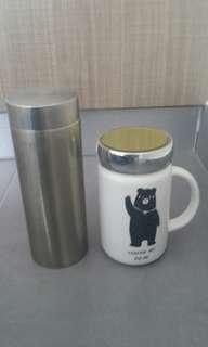 Quantum Energy Flask and Mug
