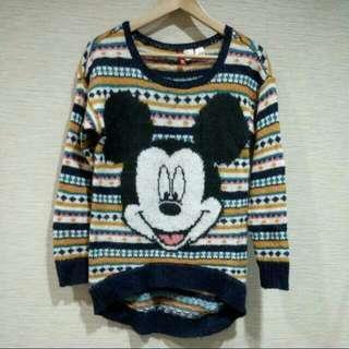H&M 米老鼠毛衣