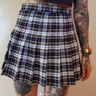 American Apparel tartan tennis skirt