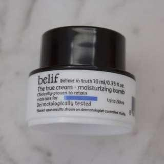 BELIFTHE TRUE CREAM MOISTURIZING BOMB 10ML