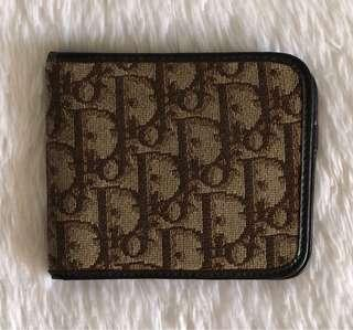 AUTHENTIC CHRISTIAN DIOR BIFOLD WALLET