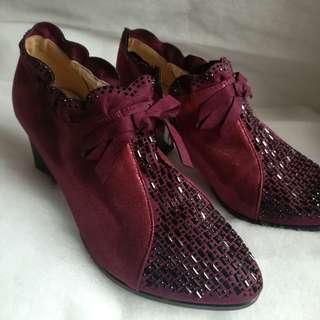 Fashion Boots Maroon