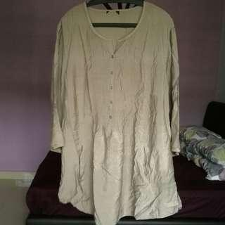 Long Blouse Maternity very cooling fits up to XXL