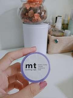 mt light purple washi tape