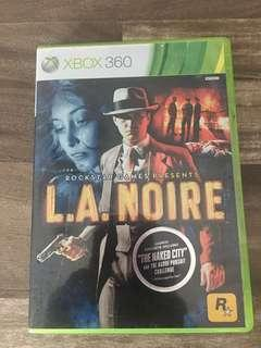 L. A. Noir - the Naked City. Rated R. 3 game discs.