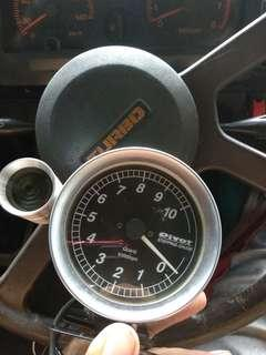 Pivot rpm stepping gauge