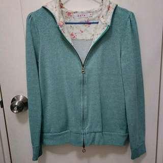 Kate 綠色銀線外套