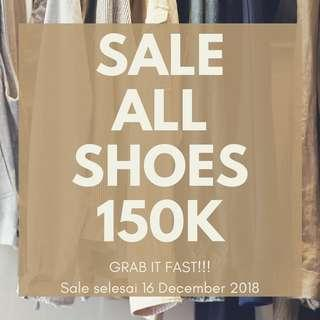 SALE ALL SHOES
