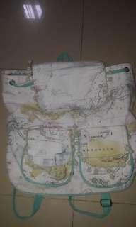 Map Bagpack #onlinesale