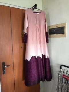 FatinSuhana Ombre Maxi Dress Jubah
