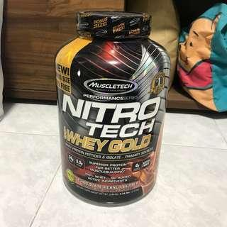Muscletech 100% Whey Gold - Chocolate Peanut Butter