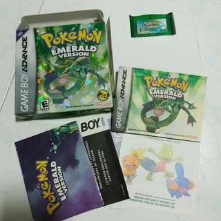 [CIB] Pokémon Emerald nintendo